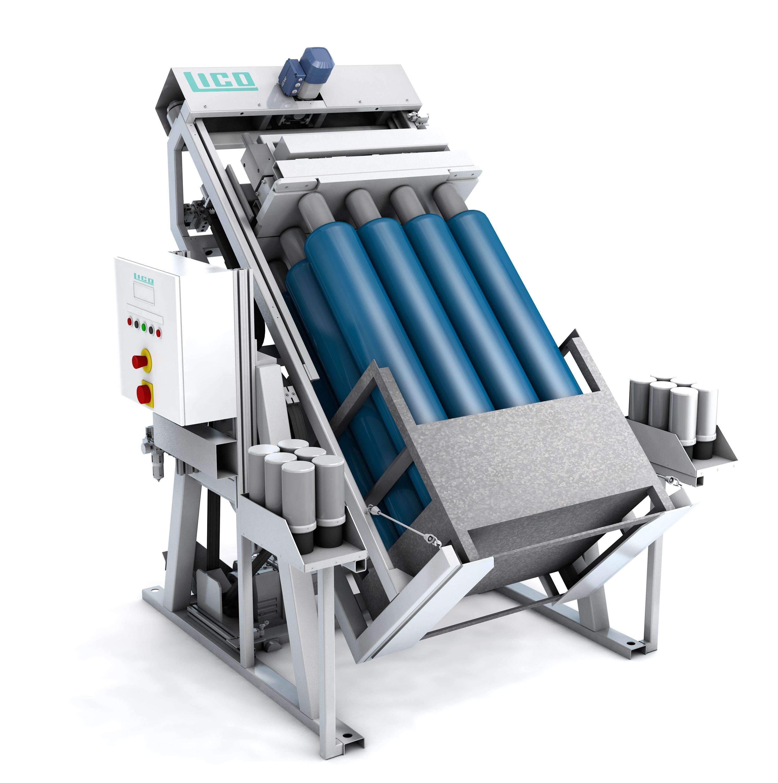LICO Stahl- und Kunststofftechnik GmbH - Cylinder Inverter / Cylinder Roller - für 12 Cylinder zum mischen von Gasen - vollautomatisch